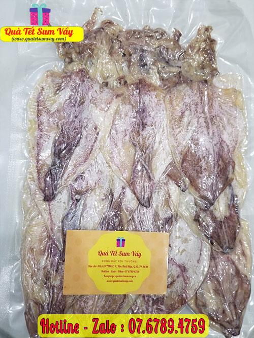 Mực khô loại nhỏ 70 - 75 con/kg
