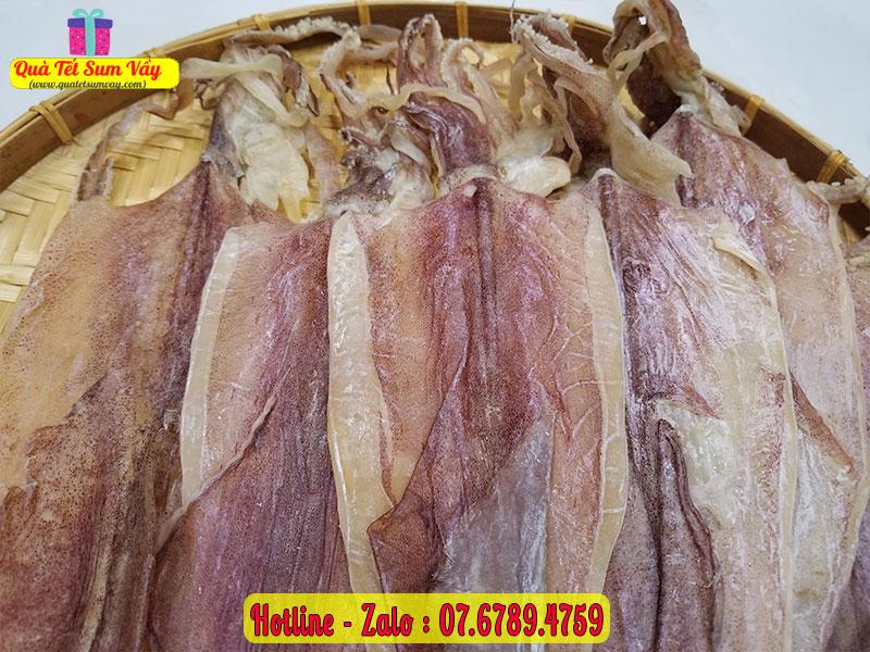Mực khô size 12 - 14 con/kg chất lượng