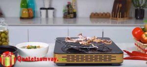 Hướng dẫn cách nướng khô mực bằng bếp hồng ngoại an toàn
