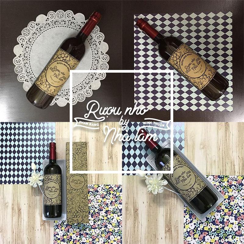 Rượu nho nhà làm Ninh Thuận