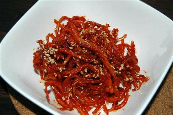 Hướng dẫn cách làm mực khô rim chua ngọt cực ngon