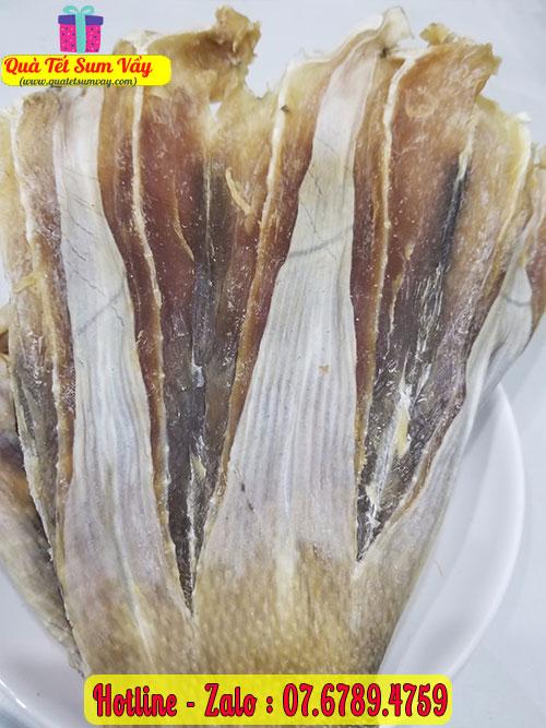 Khô cá đuối ngon, thịt sực sực
