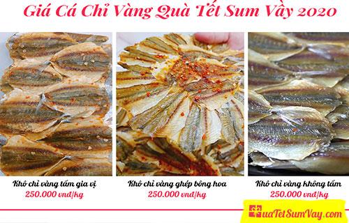 Giá khô cá chỉ vàng tại shop quatetsuumvay.com