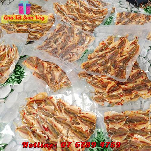 Khô cá chỉ vàng tẩm đóng gói