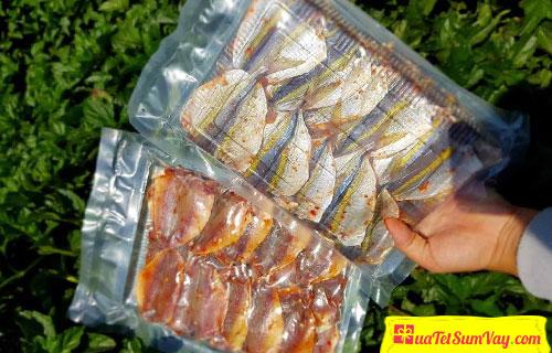 Giá cá chỉ vàng khô 1 nắng