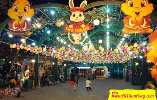 Khu vui chơi Thỏ Trắng - công viên Lê Thị Riêng - Quận 3