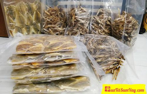 Quà Tết Sum Vầy bán các loại hải sản khô