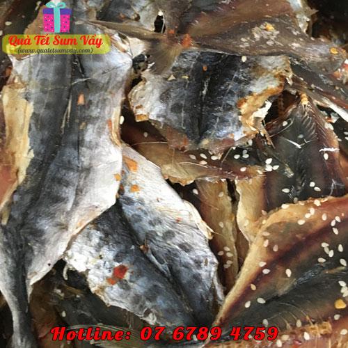Khô cá thu ảo xẻ tẩm