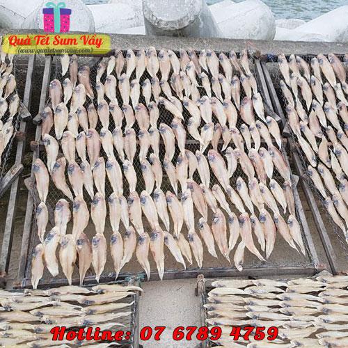 Cảnh phơi cá lưỡi trâu