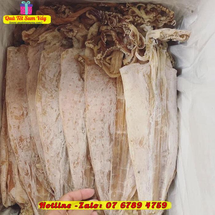 Mực khô 6 - 10 con/kg