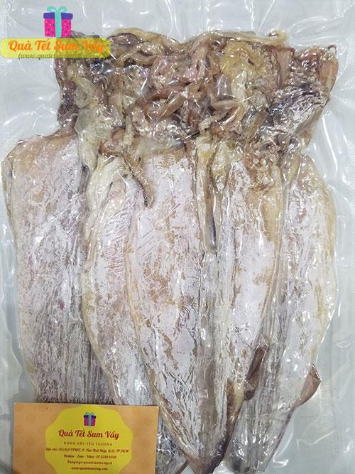 Mực khô loại 2 size 12 - 14 con/kg