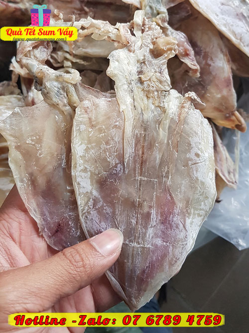 Mực khô loại 70 - 80 con/kg